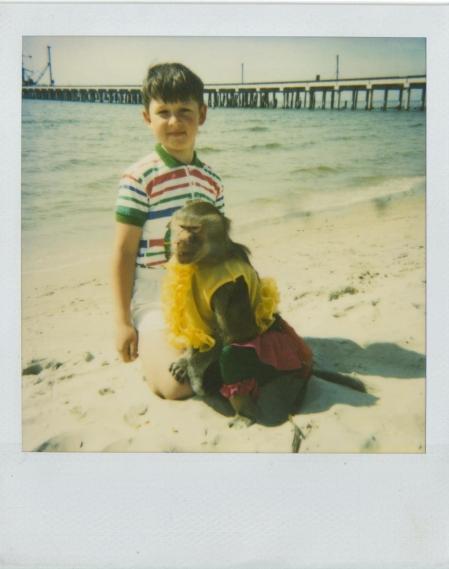 1996 m., Palanga, beždžionė